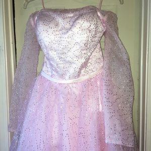 Dresses & Skirts - Pink high low dress